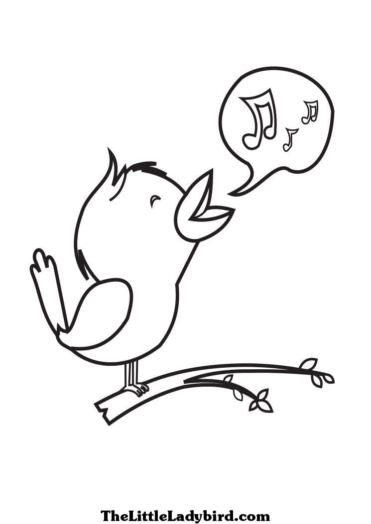 3314 Singing free clipart.