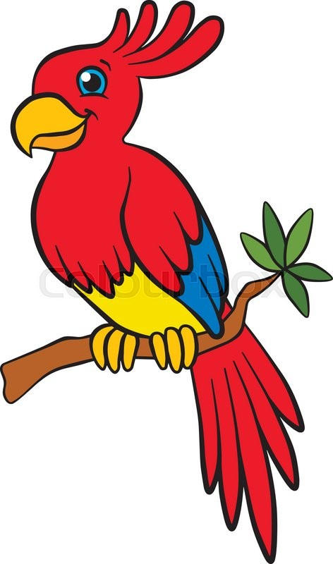 Cartoon birds for kids. Little cute.