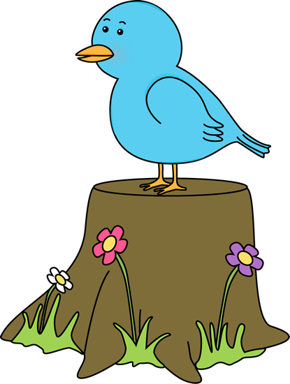 Bird In Tree Clipart.
