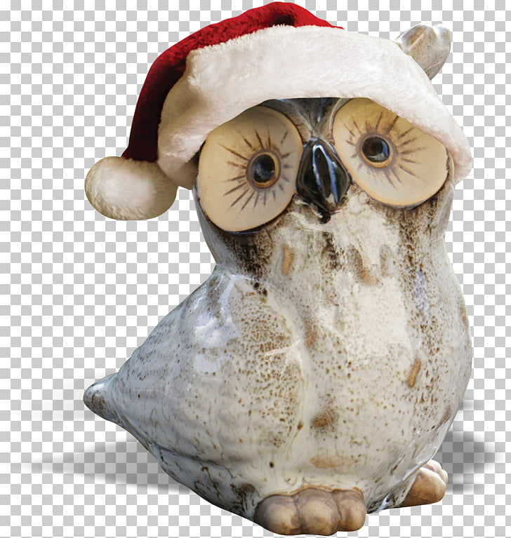Owl Bird Sculpture, Owl hat PNG clipart.