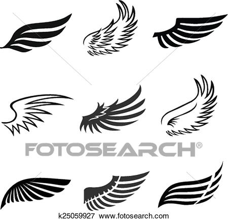 Bird wing clipart 3 » Clipart Station.