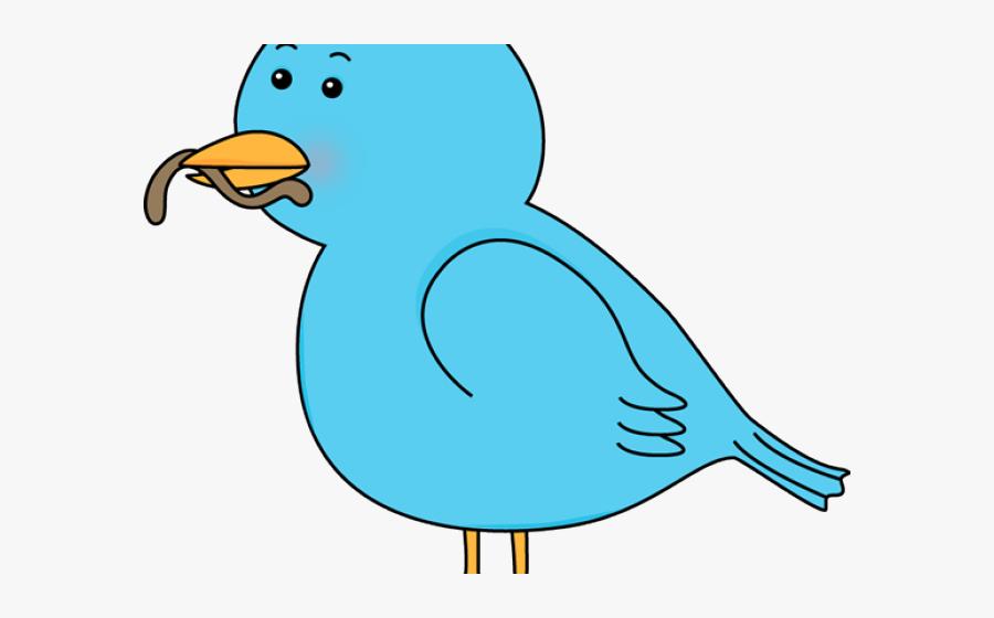 Bird Eating Worm Cartoon , Free Transparent Clipart.