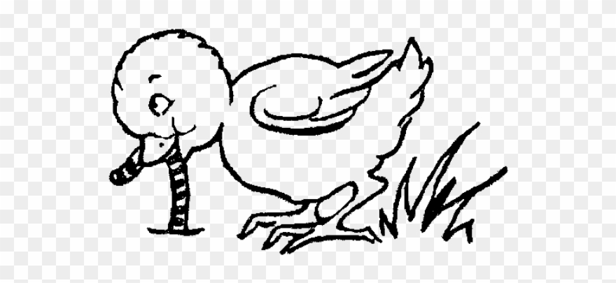 Chick Clipart Worm.