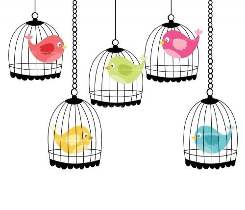 Birdcage Clipart.