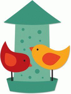Bird feeder clipart 3 » Clipart Station.
