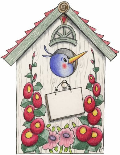 1000+ images about ღ Clipart ~ Birds & Birdhouses ღ on Pinterest.