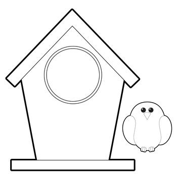 Bird Clip Art and Bird Houses.