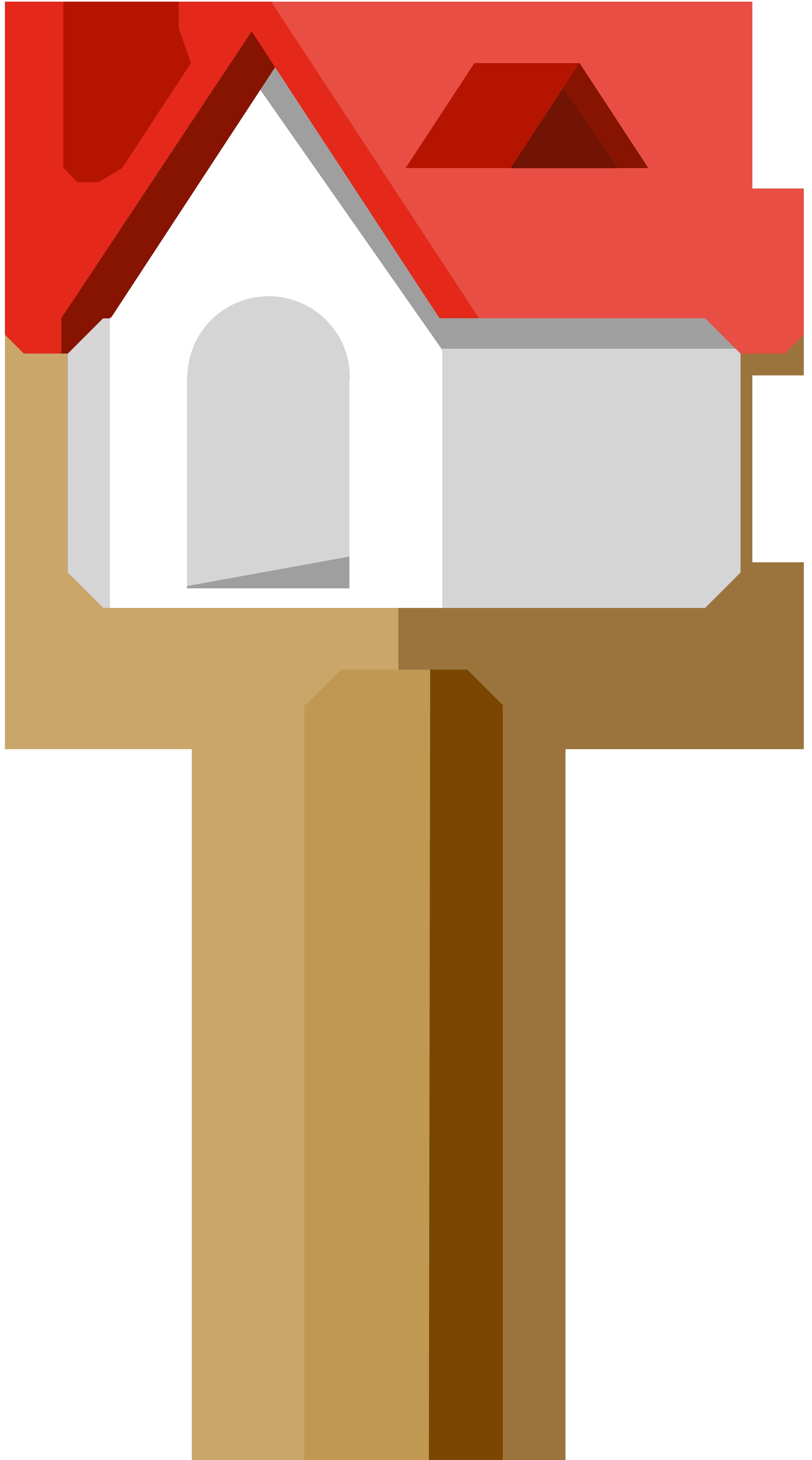 Birdhouse PNG Clip Art Image.