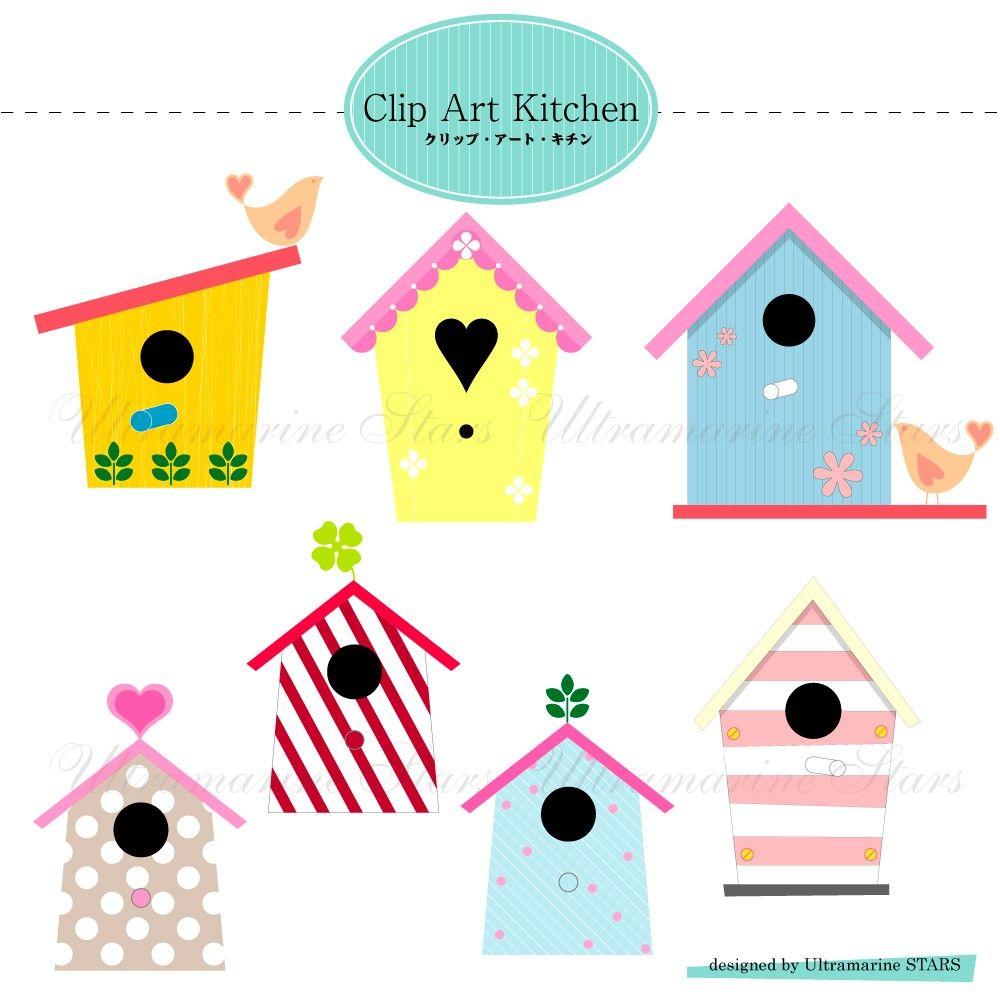Cute Birdhouse Clipart Panda Free Images Clipart.