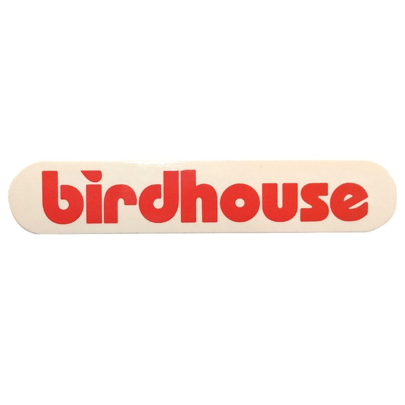 Birdhouse Logo Sticker.