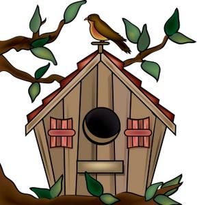 Birdhouse clipart clip art, Birdhouse clip art Transparent.