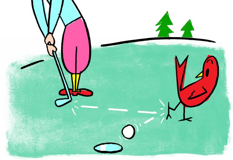 The Origins of Birdie and Eagle as Golf Terms.