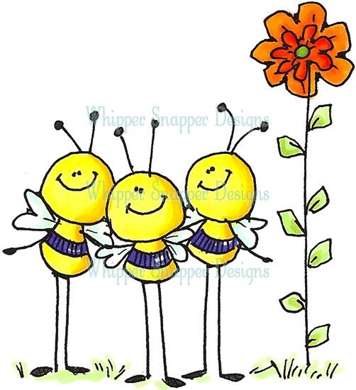 Birds and bees clipart.