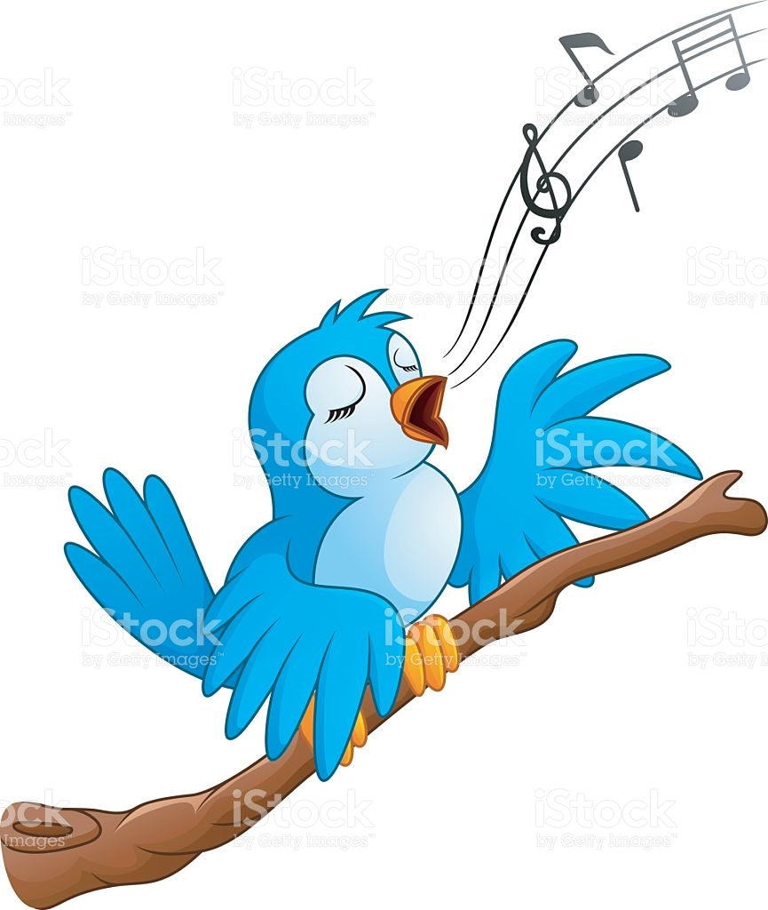 Bird chirping clipart 6 » Clipart Station.