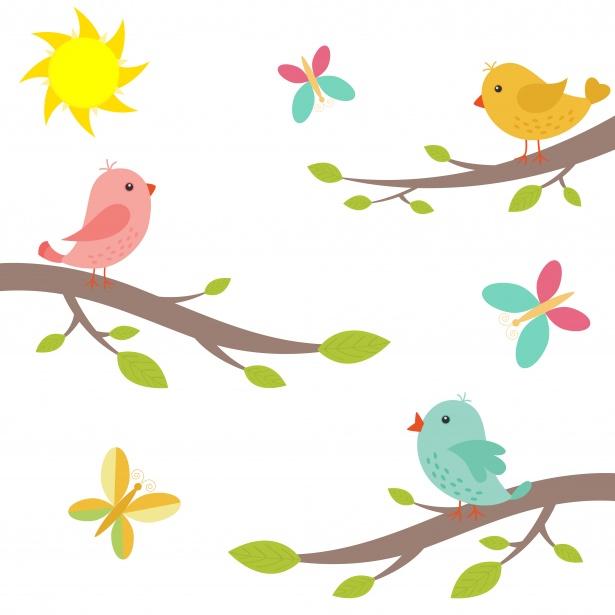 Bird Clipart Illustration Free Stock Photo.