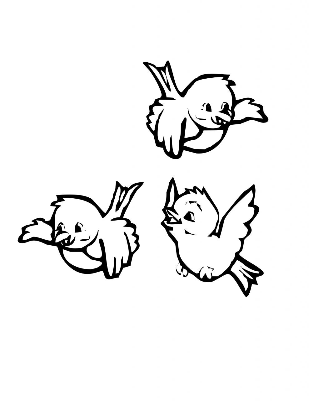 Bird Clipart Black And White (74+ images in Collection) Page 1.