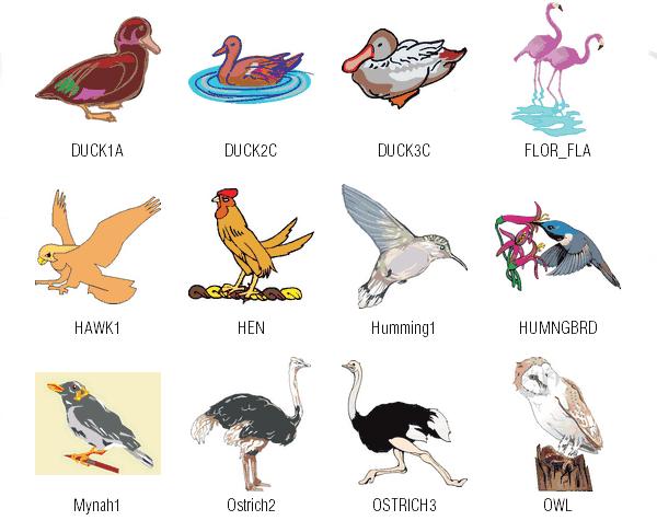 Free Vector Clipart Downloads Birds.