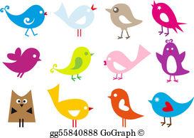 Birds Clip Art.