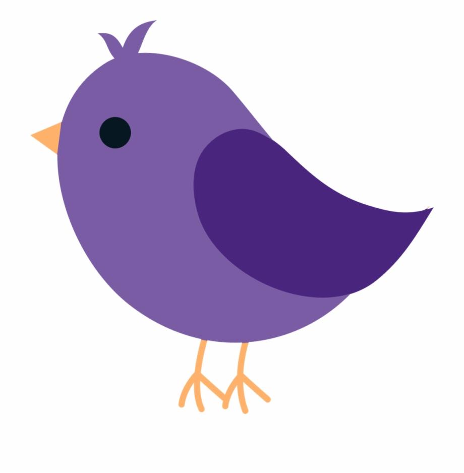 Violet Clipart Bird.