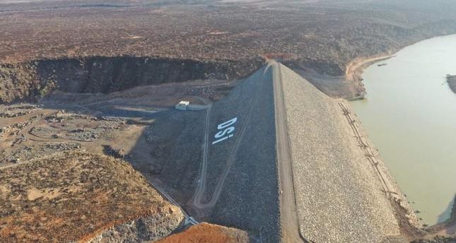 Dam built by Turkey helps Djibouti fight floods.