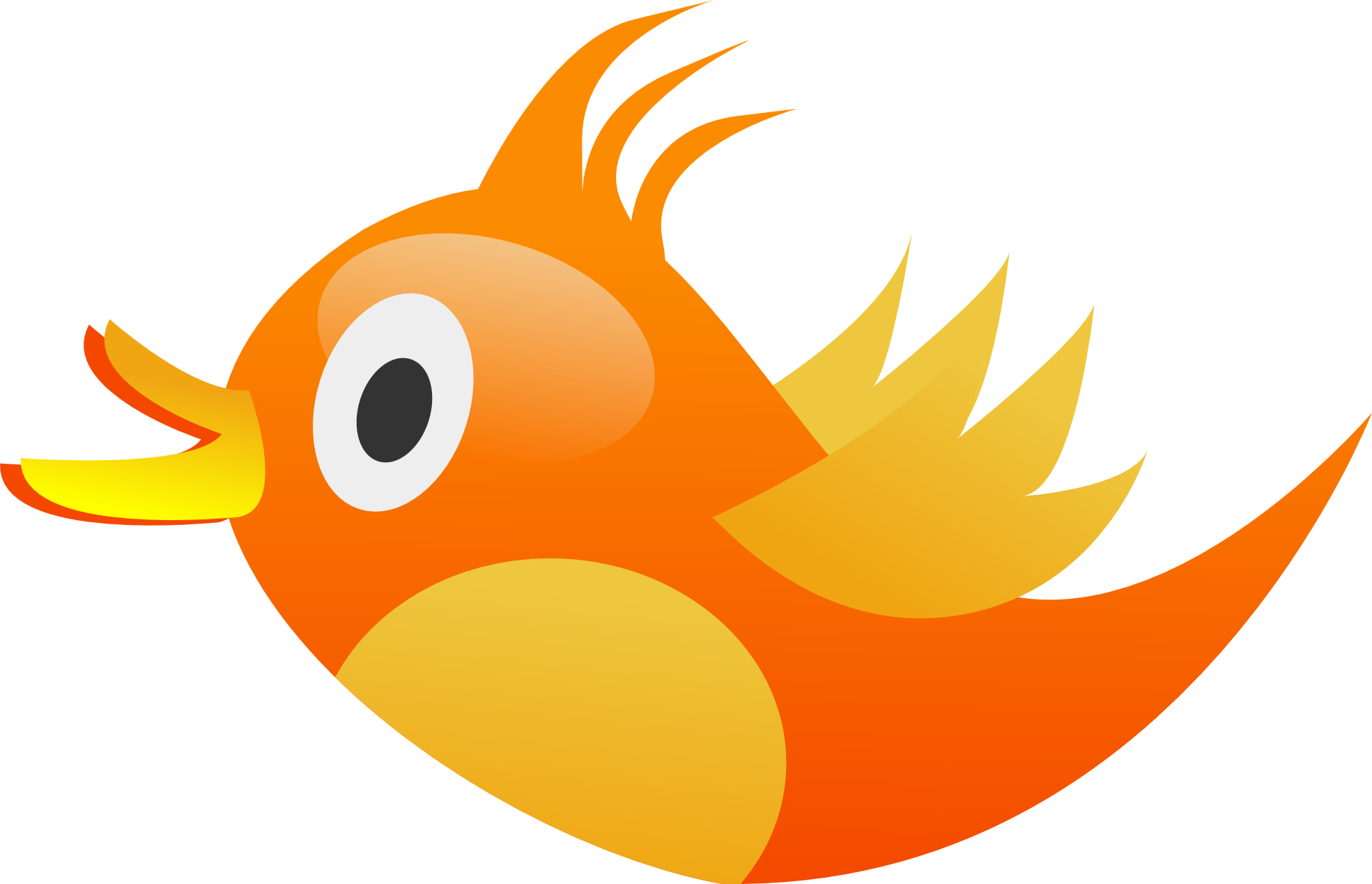 Bird Face Clipart.