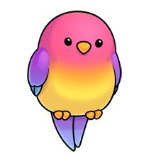 Pretty bird clipart #5