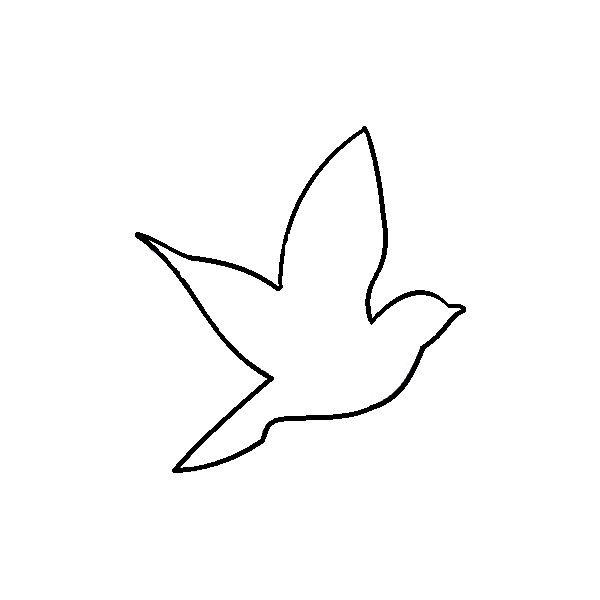 25+ best ideas about Bird Outline on Pinterest.