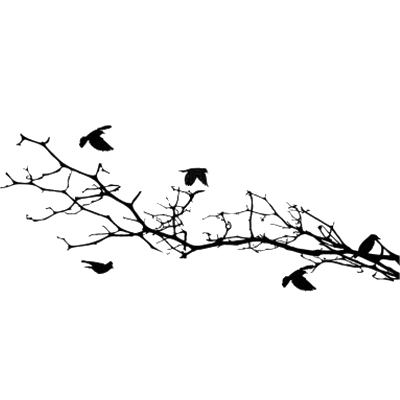 Birds Flying From Tree Silhouette Png & Free Birds Flying.