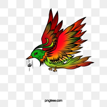 Creative Color Stone Paintings Of Birds, Color Clipart, Creative.