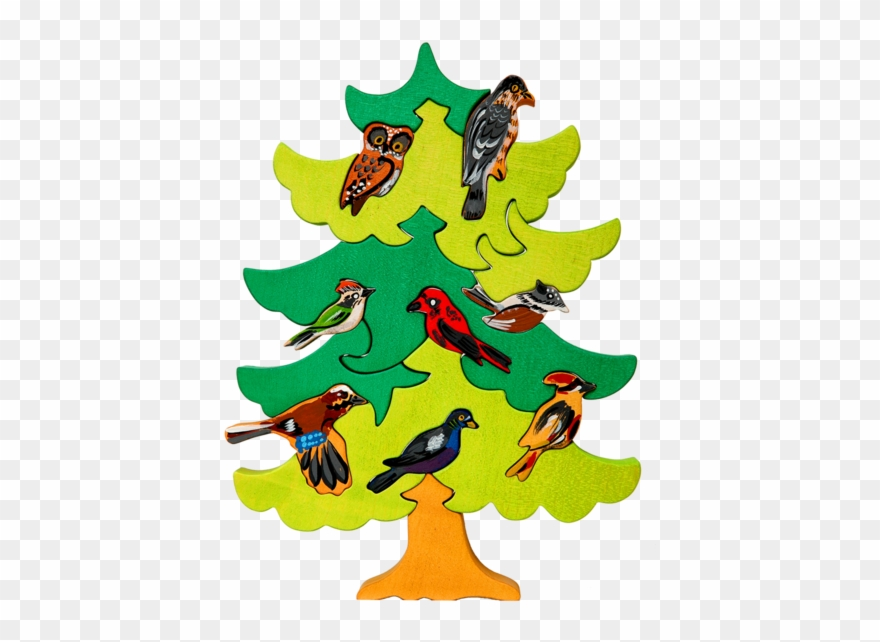 North European Bird Tree Puzzle.