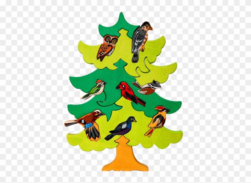 North European Bird Tree Puzzle.