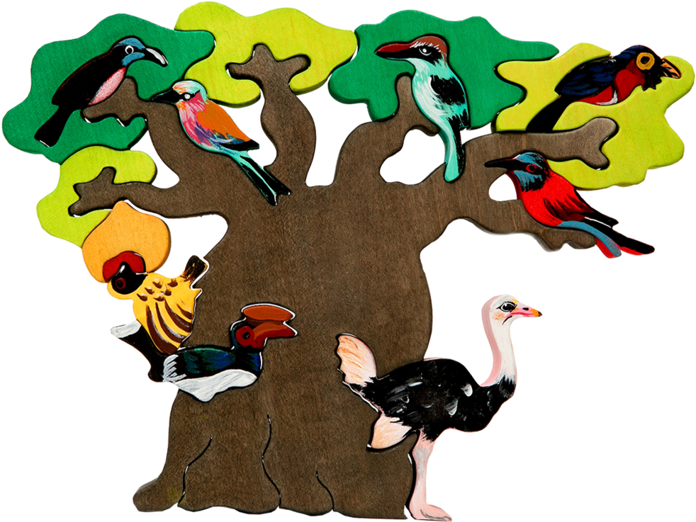 Clipart Tree Bird.