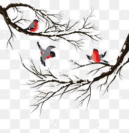 499 Winter Tree free clipart.