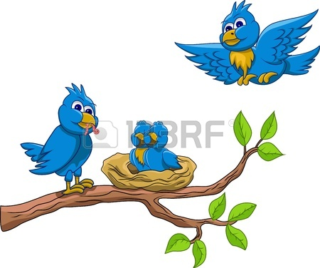 Birds Nest In Tree Clipart.