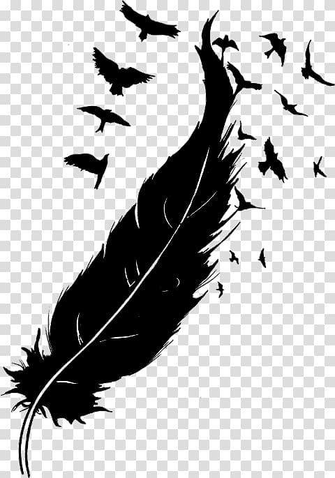 Bird Goose Feather Drawing, Bird transparent background PNG.