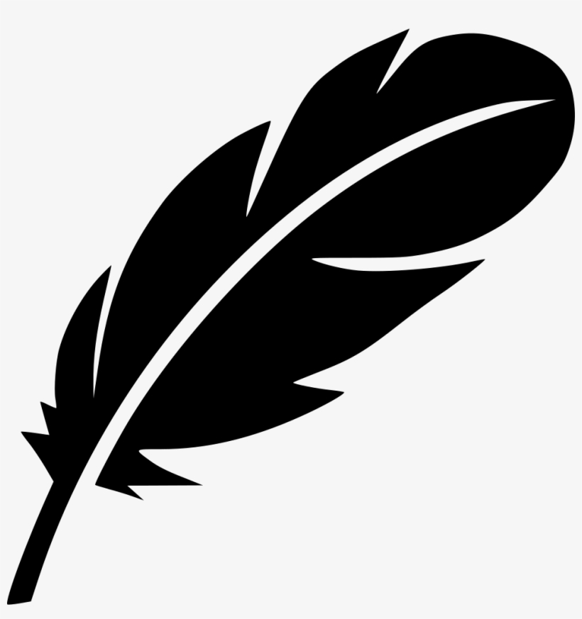 Feather Bird Writer Literature Drama Poem Pen Svg Png.