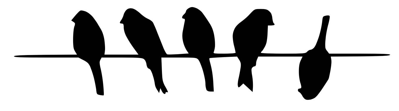 Bird On Wire Silhouette at GetDrawings.com.