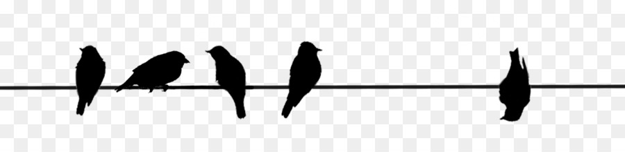 Free Bird On Wire Silhouette, Download Free Clip Art, Free.