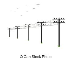 Power Lines Clip Art Related Keywords & Suggestions.