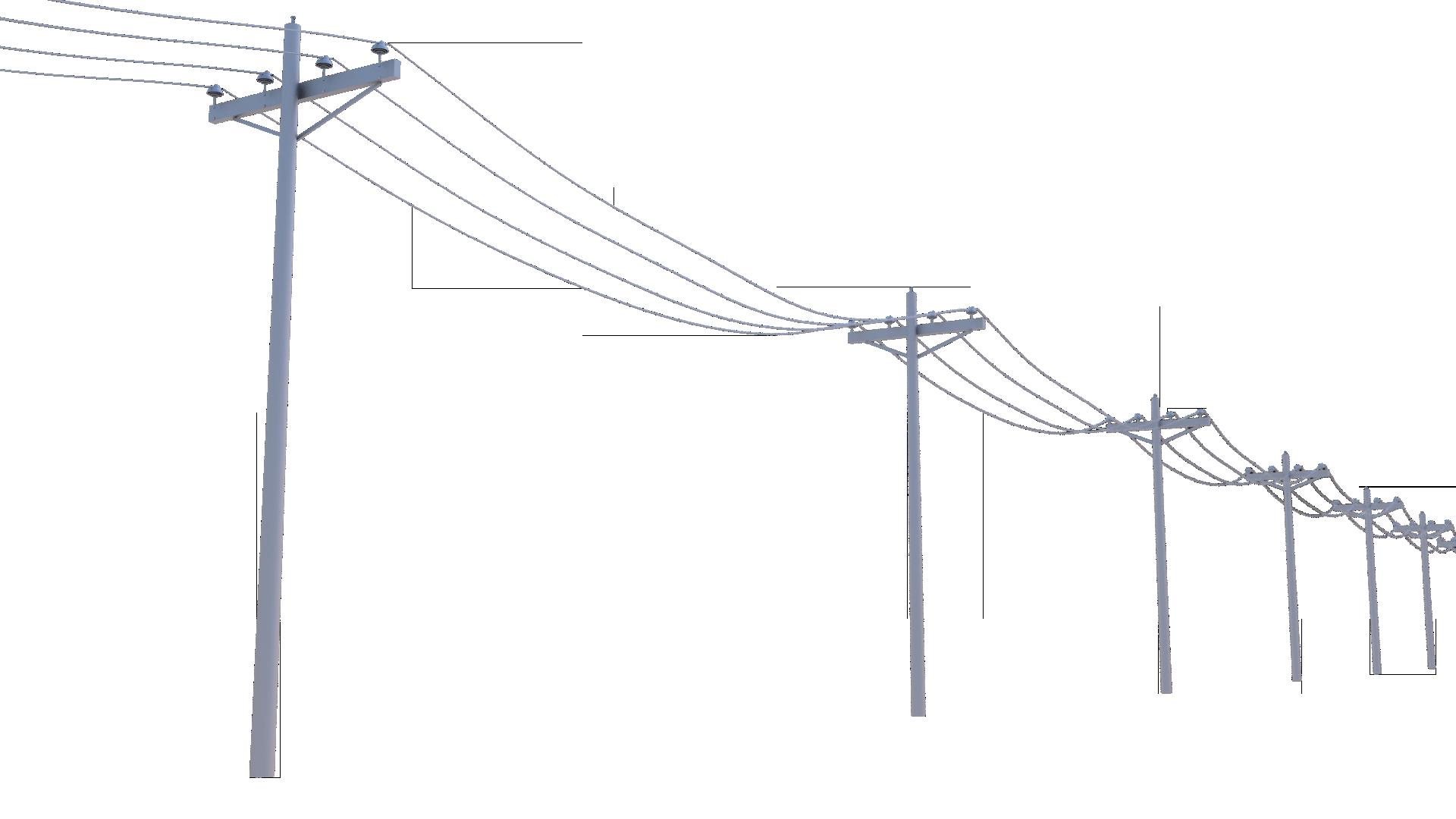 Birds on power pole clipart - Clipground