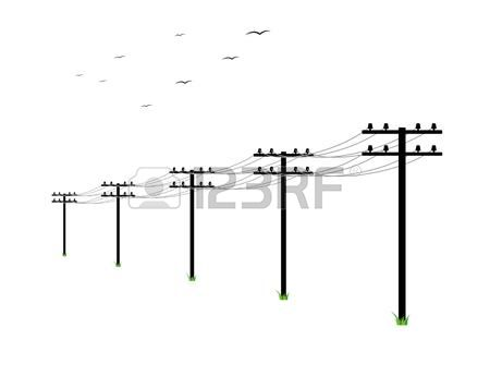209 Utility Pole Stock Vector Illustration And Royalty Free.