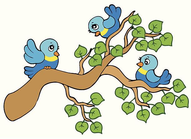 Three Birds Clip Art, Vector Images & Illustrations.