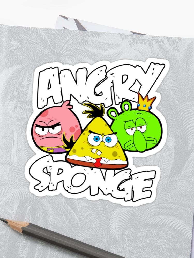 Angry Birds Spongebob.