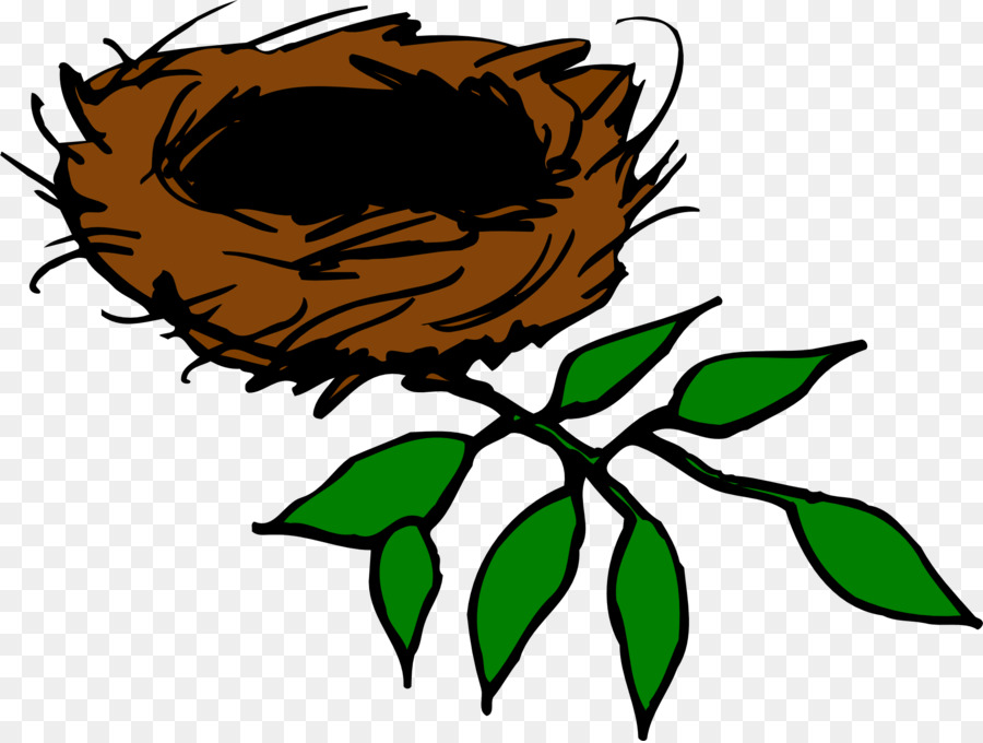 Clipart Birds Nest.