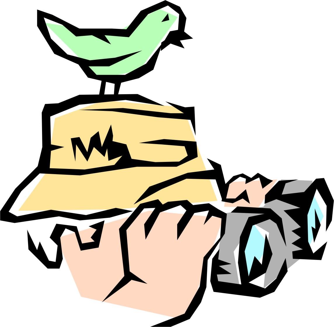 Bird Watching Clipart.