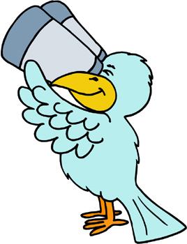 Bird Watching Clip Art.