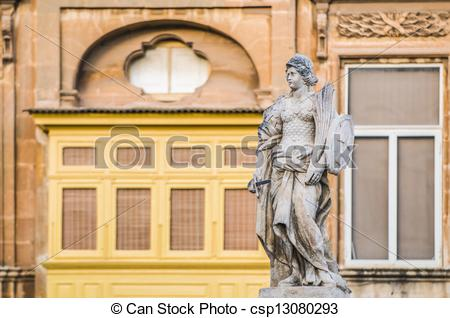 Stock Photographs of Victory Monument at Vittoriosa Square in.