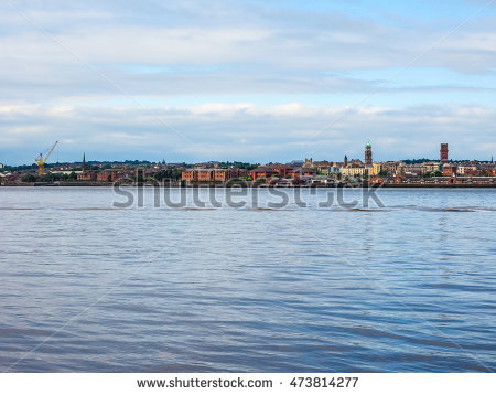 Liverpool Skyline Stock Photos, Royalty.