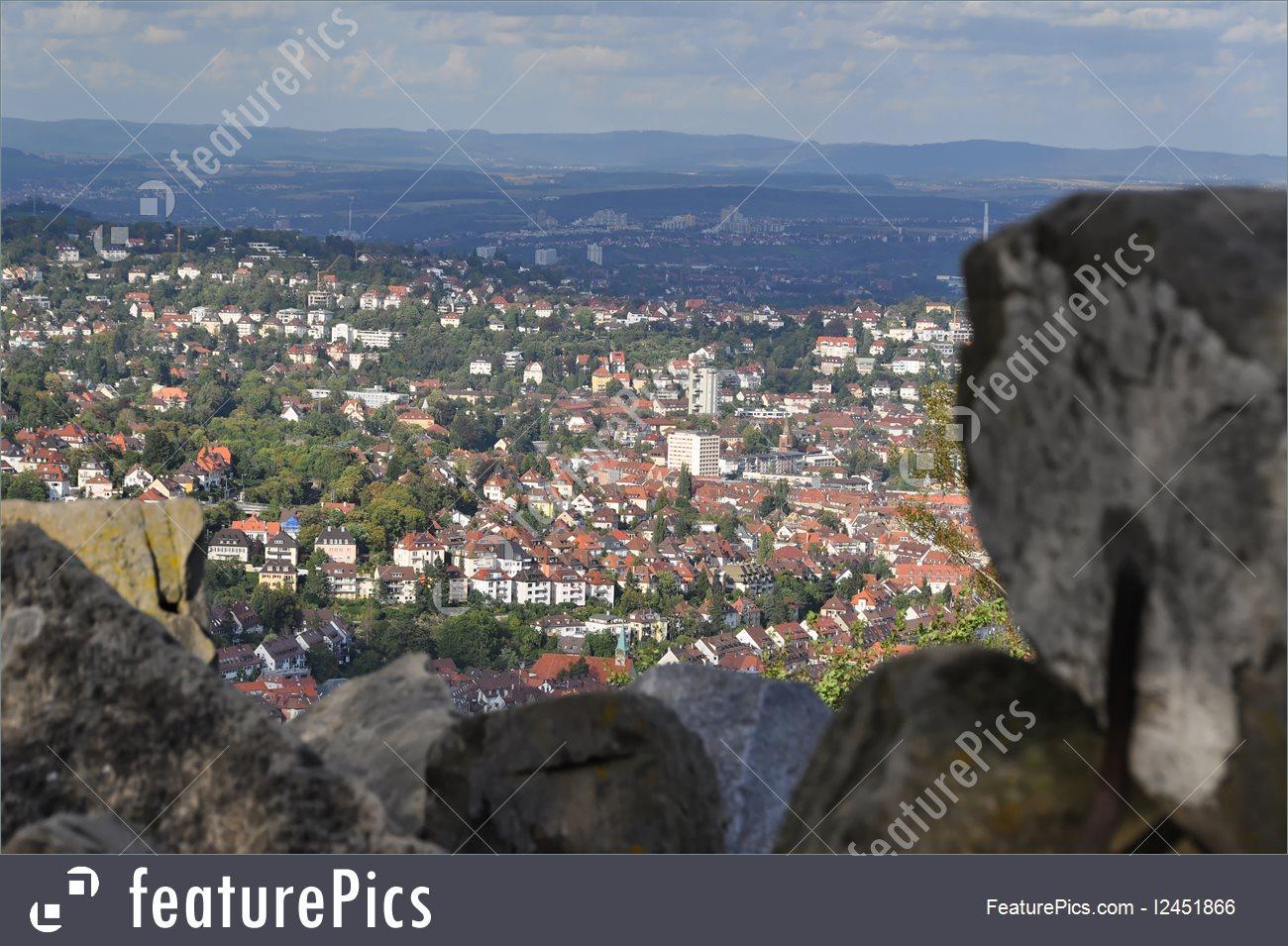 View On Stuttgart From Birkenkopf Photo.