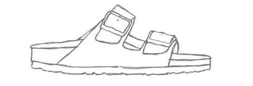 birkenstock sketch.